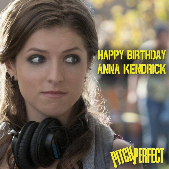 Happy birthday, Anna Kendrick!