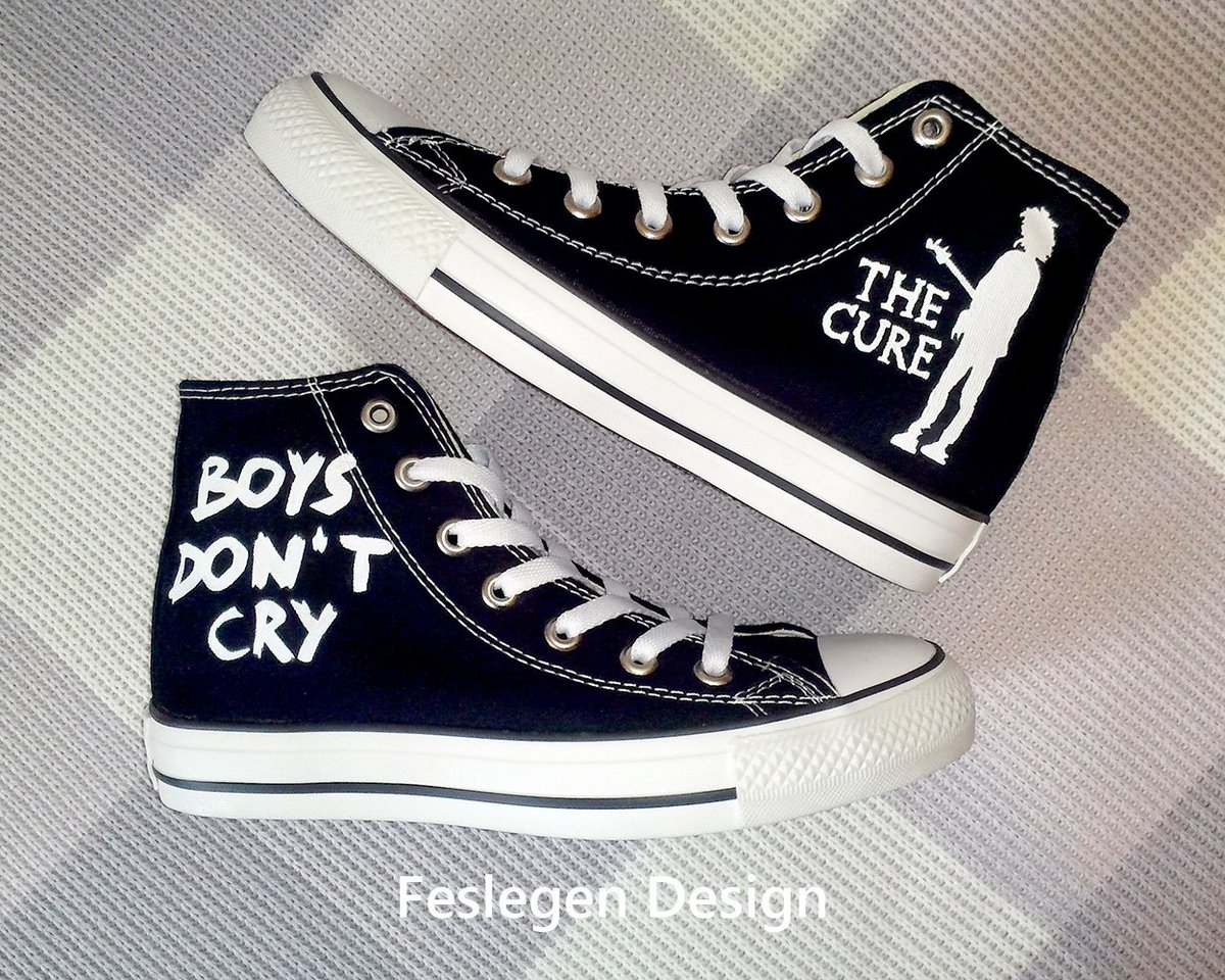 57cd42c538e8 The Cure Custom Painted Converse Shoes Link for Buy   http   shopier.com 43213  thecure  cure  boysdontcry  Shoes  CONVERSE   sneakers  custom  Painted  shop ...