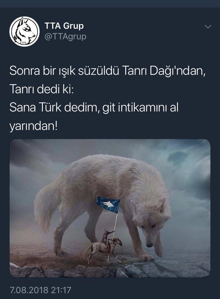 O sırada Türk