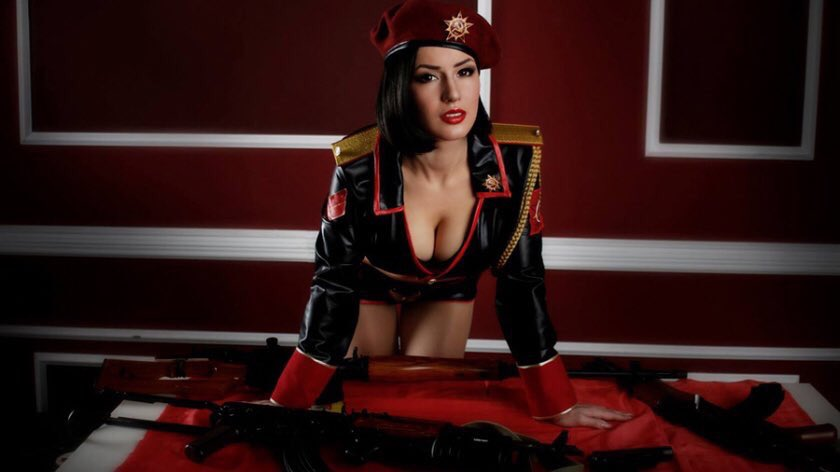 Red Alert Inpired By Octokuro Games Cosplay Marvel Spyfam 1