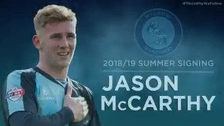 Return of the Mac! Jason McCarthy returns on a three-year deal for an undisclosed fee from #barnsleyfc. Welcome home Jase!