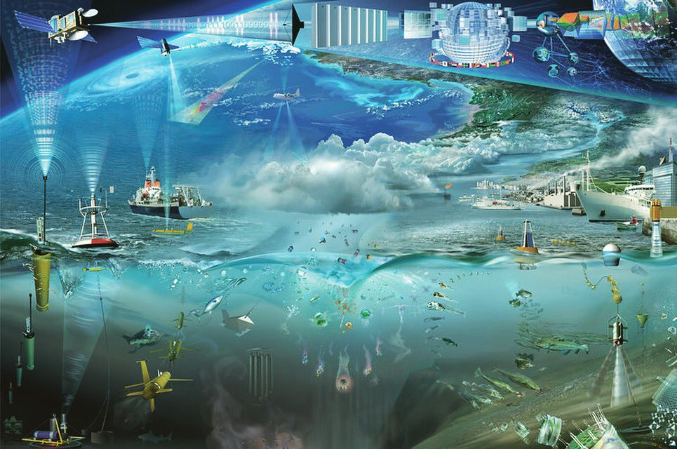 "OceanObs19 on Twitter: ""Artwork by Glynn Gorick depicting the ..."