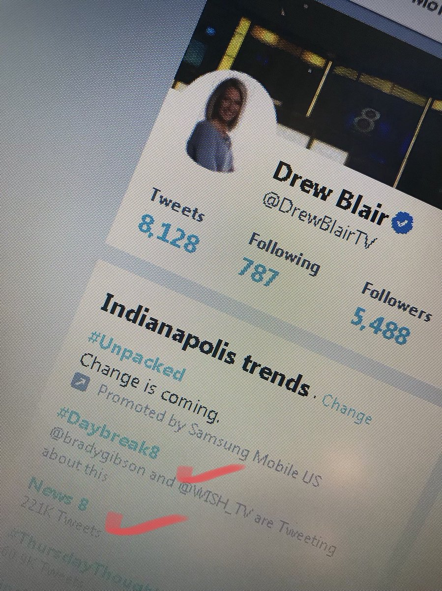 When @WISH_TV is trending not once, but twice... thanks, #Indy! Keep watching, talking and have a happy Thursday! #Daybreak8 News 8 <br>http://pic.twitter.com/gUDfGaxTlr