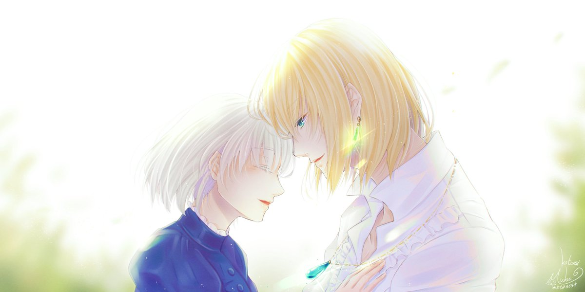 『I&#39;ve finally found someone I want to protect… You.』 #ハウルの動く城 <br>http://pic.twitter.com/t4VjxpOUHI