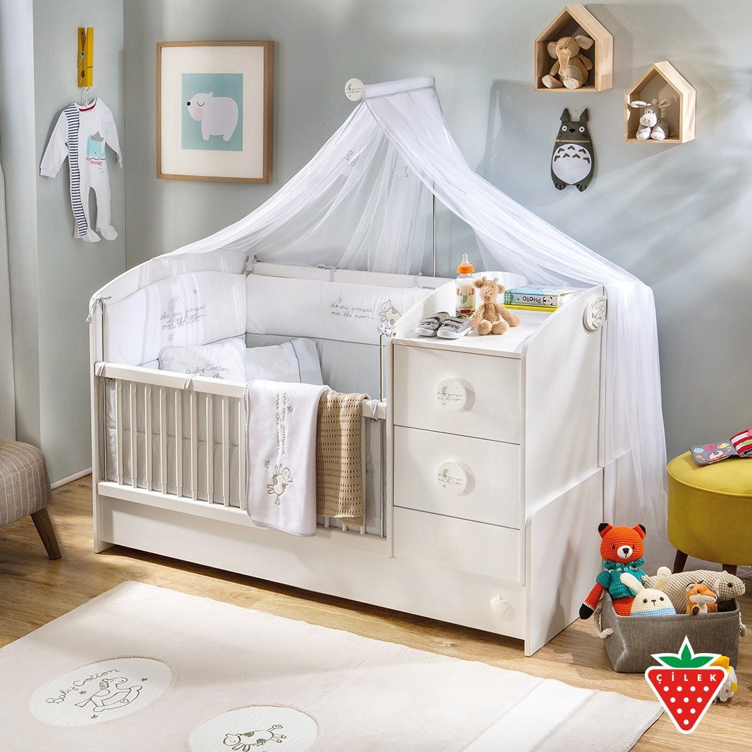 Baby Cotton Series. Let your baby grow in soft and cottony room with rounded corners and cheering white color. #cilekroom #babyroom   https://t.co/ZBe3uabRXy https://t.co/Aj8qZERJ6v