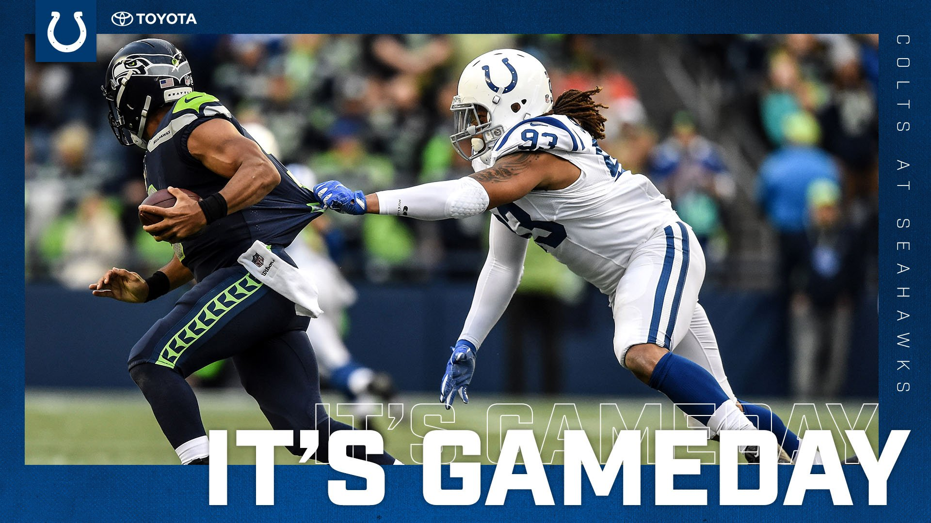 IT'S GAMEDAY! #INDvsSEA   ��: https://t.co/Ig5CEF2472 https://t.co/Swvrgk4C7b