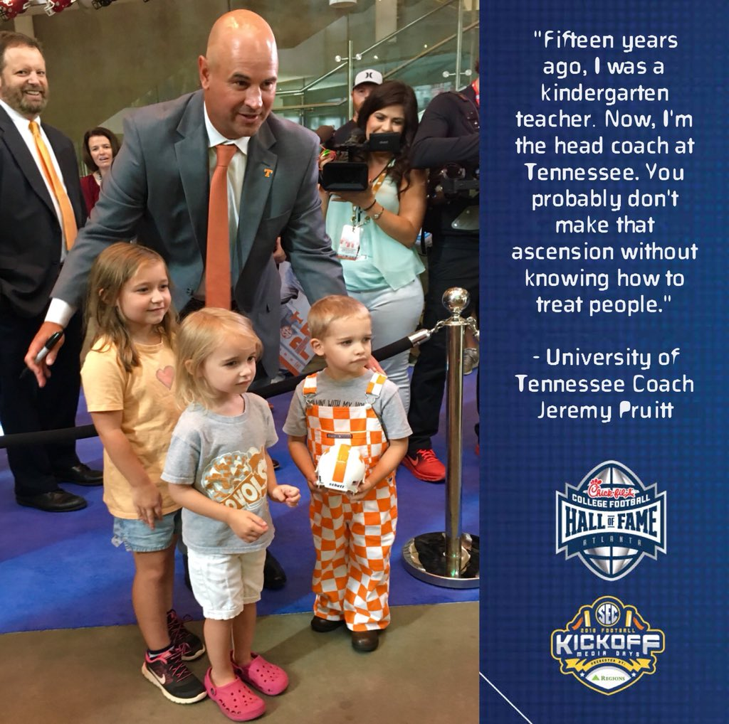 #tbt What was your favorite #SECMD18 moment? Let us know in the comments!  #ImaRealFan @Vol_Football @UKFootball @benny_snell @AlabamaFTBL @CoachJPruitt<br>http://pic.twitter.com/FDBAcze9D6