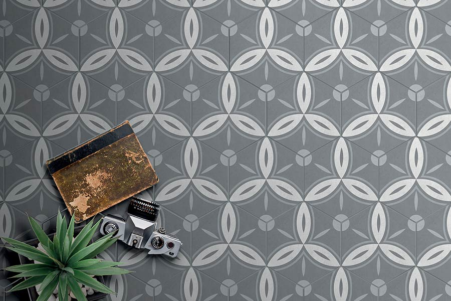 With Roman roots, #HexagonalTiles are the epitome of bathroom tranquillity. Embracing the ancients' love of spa sanctuary, these #PatternedTiles offer indulgence with a contemporary twist:  http:// ow.ly/tf2i30koi4F  &nbsp;    #PorcelainTiles #DecorativeTiles #BathroomTiles<br>http://pic.twitter.com/UCOSOnhvei