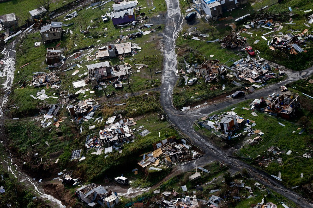 Puerto Rico is now admitting more than 1,400 people were killed in the aftermath of Hurricane Maria last year — not just the 64 in the official death toll.