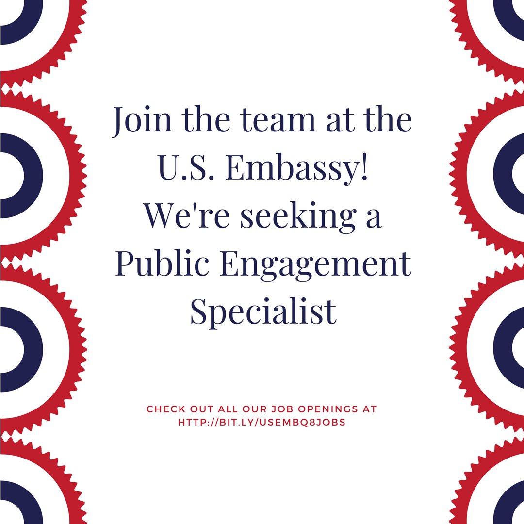 U S  Embassy Kuwait on Twitter: