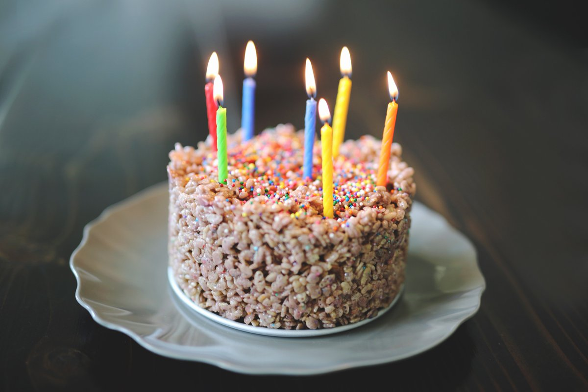 Outstanding Mrsdrlupo On Twitter My Birthday Cake Charlie And I Made Rice Personalised Birthday Cards Cominlily Jamesorg
