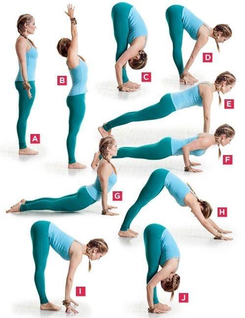 Йога Для Похудеете Упражнение.