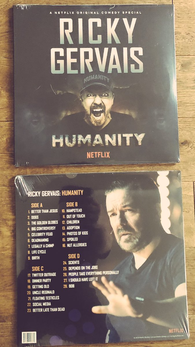 Ooh..limited edition vinyl albums of #Humanity.