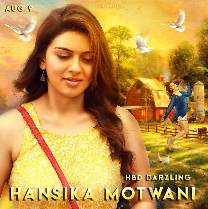 Happy Birthday Hansika Motwani