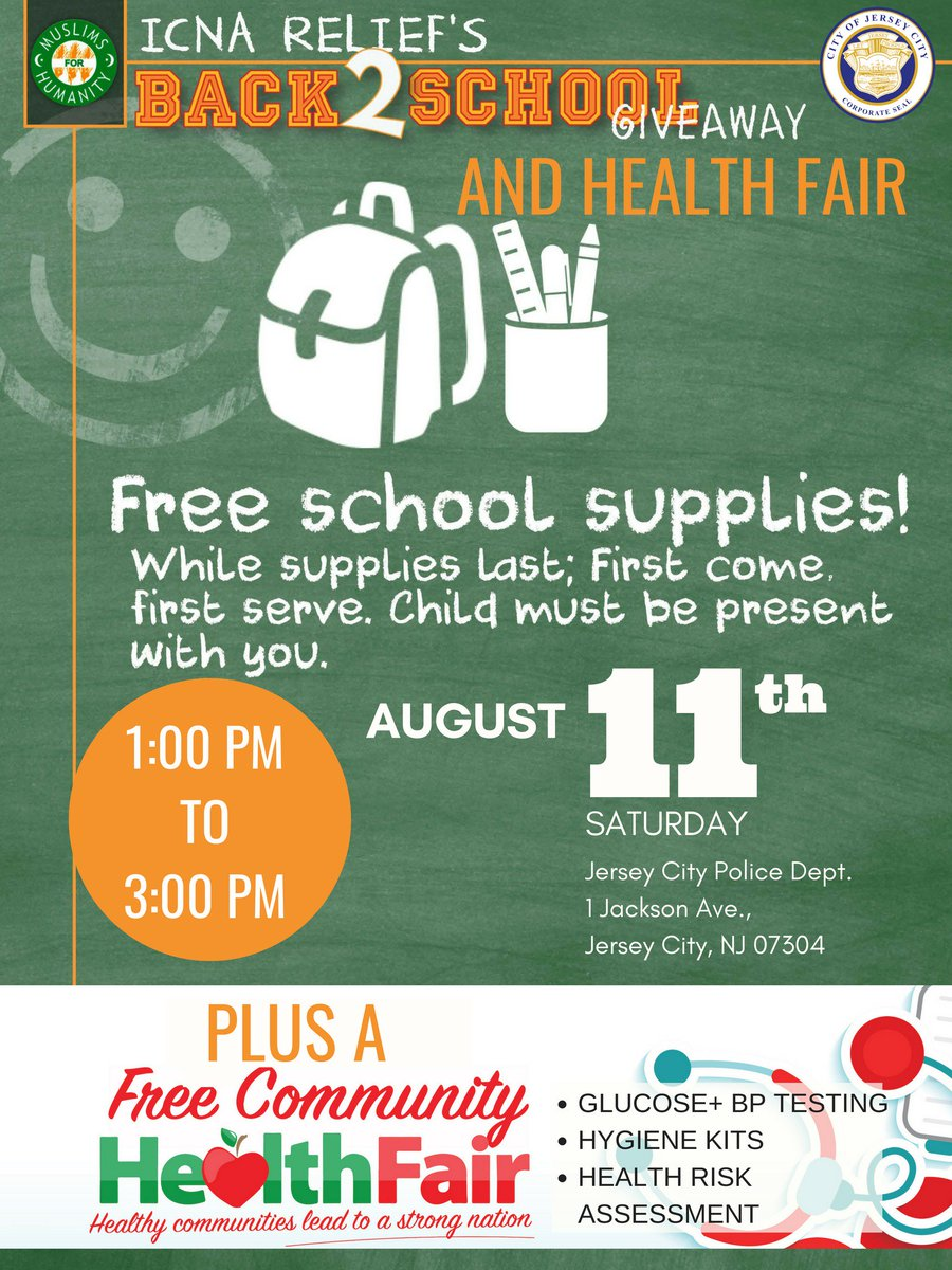 Free Book Bags With School Supplies 2018