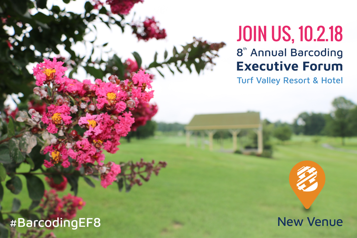 New venue alert! Our 8th Annual Executive Forum will be held at @turfvalley and will surpass your wildest #supplychain dreams! Register now for a day of thought leadership, breakout sessions, #networking, &amp; more:  http:// bit.ly/2vrGmUj  &nbsp;    #BarcodingEF8 #logistics #SupplyChainGeek <br>http://pic.twitter.com/ERCF5XTx0s