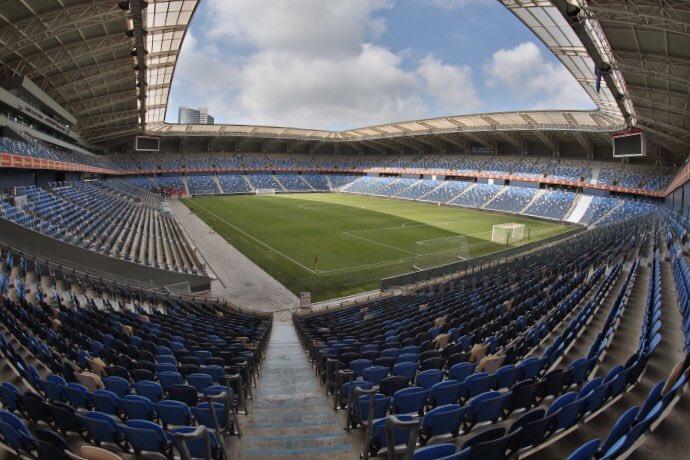 Tutto pronto per #HapoelAtalanta! Entriamo insieme nel Sammy Ofer Stadium di #Haifa   https:// www.youtube.com/watch?v=uWakQe9-Fe8#EuAtalanta #GoAtalantaGo  - Ukustom