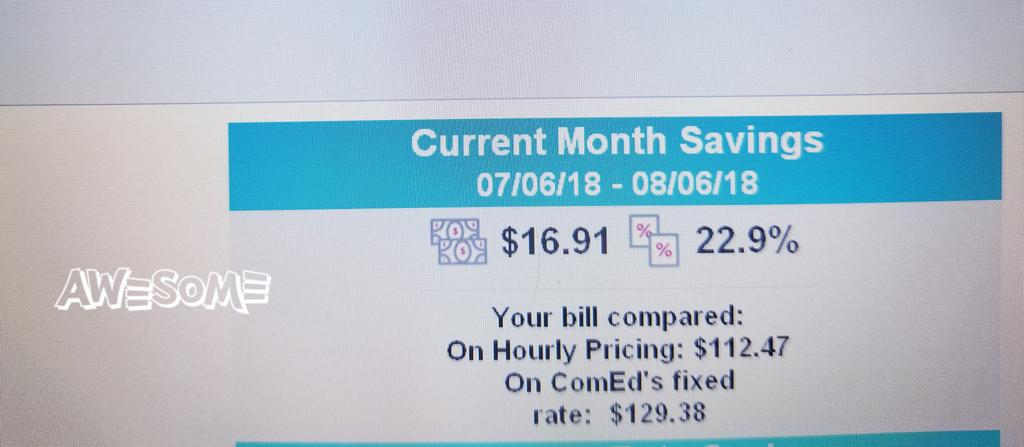 Comed Hourly Pricing >> Cub Illinois On Twitter Cubbie David Kolata Saved 22 9 On