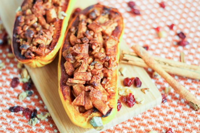 Roasted Apple Walnut Calabaza Squash #Vegetarian https://t.co/mqiGjuBtFj https://t.co/dn9VuZZ1KO