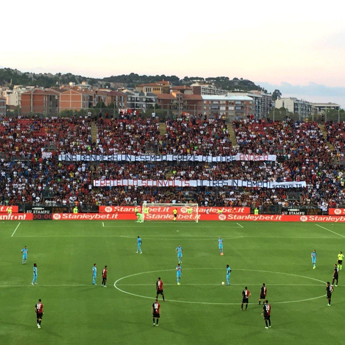 Troppe emozioni #CagliariAtleti#GRA7IE  - Ukustom