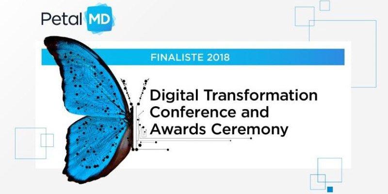 #Lecturedujour : Notre #membreAQT, @Petal_MD, a été finaliste pour les Digital Transformation Awards dans la catégorie «Artificial Intelligence Disruptor», nouveauté de l'édition 2018. C&#39;est la 3e nomination en 2018 qui souligne les innovations technologiques de PetalMD. @aqtech<br>http://pic.twitter.com/Gy1G7IF9nR