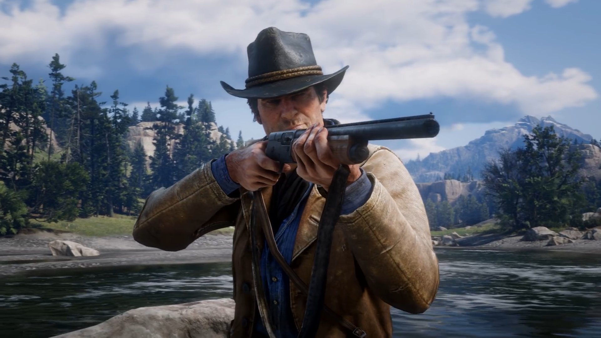 Red Dead Redemption 2 gameplay has been revealed! #RDR2 https://t.co/N7SeeCHXUu