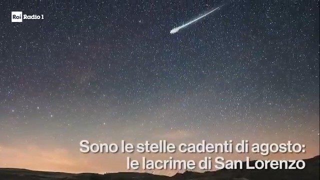 """""""A grandi sorsate mi ubriacavo di stelle"""". Quest'anno lo spettacolo della notte di San Lorenzo sarà straordinario, ma il picco delle #stellecadenti è previsto tra il 12 e il 13. #SanLorenzo2018 #10agosto   - Ukustom"""