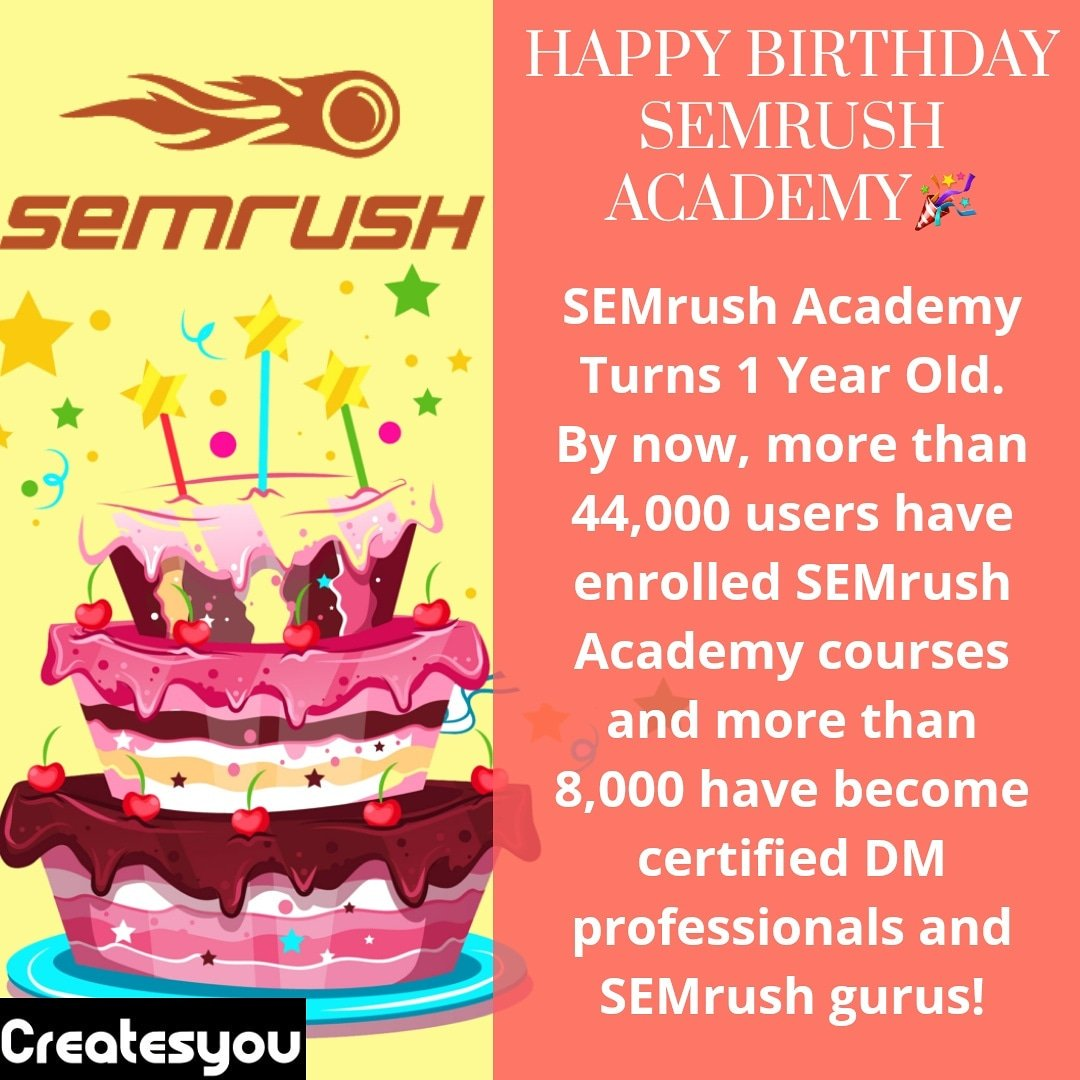 Unknown Facts About Semrush Academy