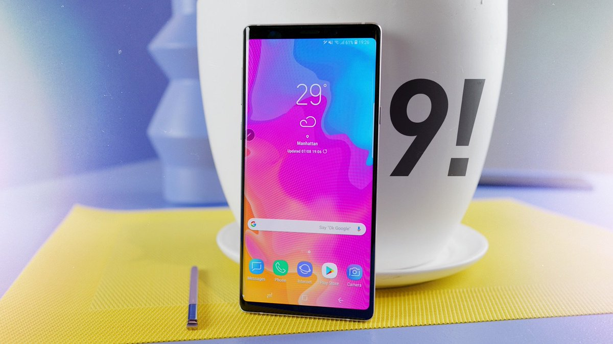 Marques Brownlee On Twitter New Video Samsung Galaxy Note 9