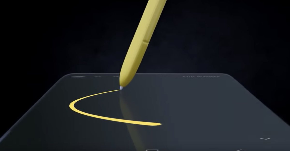 Samsung adds Bluetooth to the Galaxy Note 9's S Pen, making it more powerful than ever