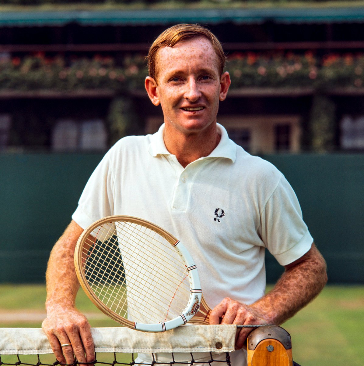 The legendary @rodlaver is celebrating his 80th birthday today 🎉 #Wimbledon