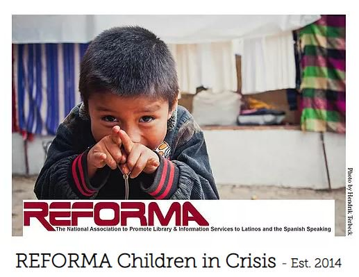 REFORMA Leads Efforts To Get Books to Migrant Children  https:// bit.ly/2npEK97  &nbsp;    -  #Refugees #LibrariesTransform @reformanational<br>http://pic.twitter.com/f6VIBHZYll