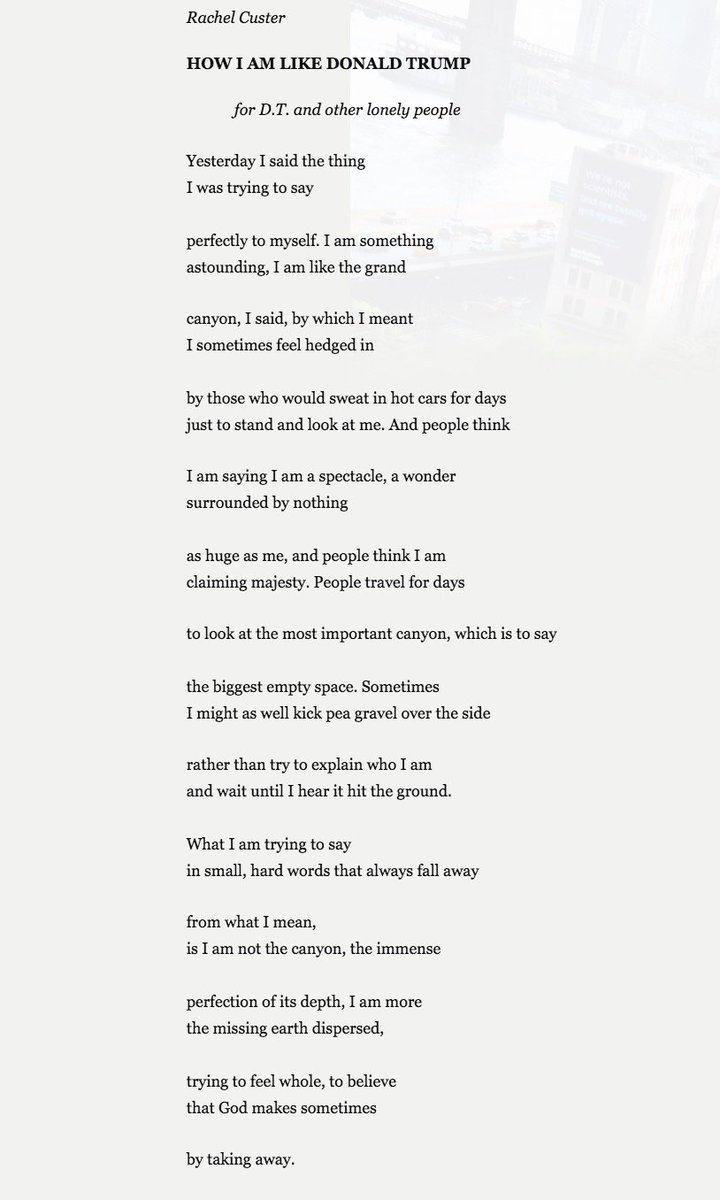 Hannah On Twitter A Poem And Its Consequences Httpstco