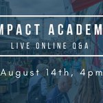 Image for the Tweet beginning: Applying to #ImpactAcademy - #CityMaker