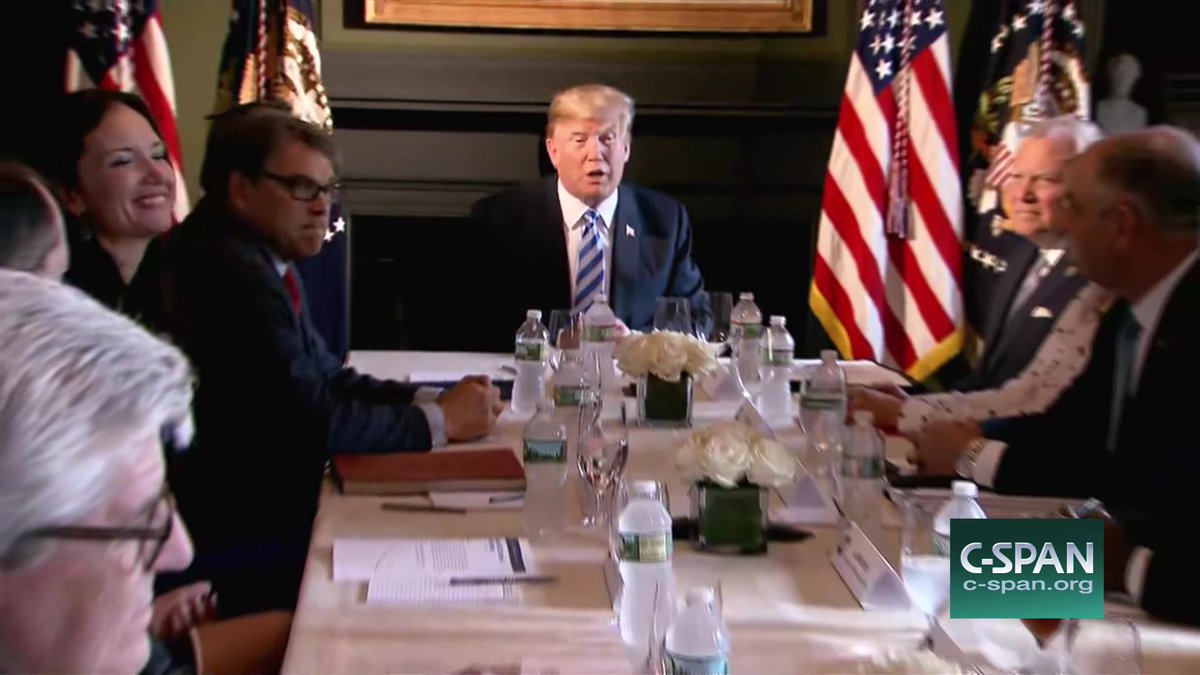 Trump Round Table.Cspan A Twitter President Trump Hosts A Roundtable Discussion With