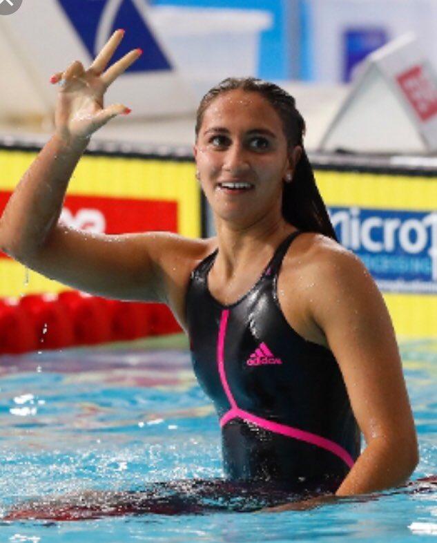 E sono 3 !! Fantastica la romana #Quadarella, #oro anche nei 400 sl agli #Europeinuoto di #Glasgow2018 @Roma esulta ancora: grazie Simona! @FINOfficial_  - Ukustom