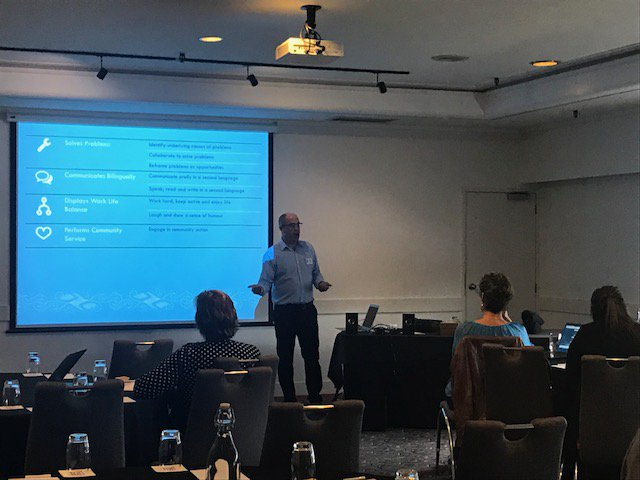 test Twitter Media - #ELF2018 Expanding on the Micro-credential presentation-Andy Kilsby, Manager Secondary Tertiary, Otago Poly expanded on The Learner Capability Framework - gather the evidence, assess & verify the evidence & present an individual capability profile https://t.co/lgNCKBebzk https://t.co/kzo6QjSNwu