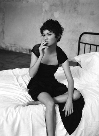 Happy 42th birthday to the beautiful & sweet Audrey Tautou.