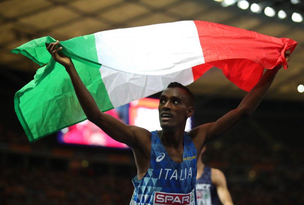 Bronzo per Yohannes #Chiappinelli atleta del gruppo sportivo @_Carabinieri_ #ItaliaCheVorrei #berlino2018 #EuropeanChampionships2018 #Italia    - Ukustom
