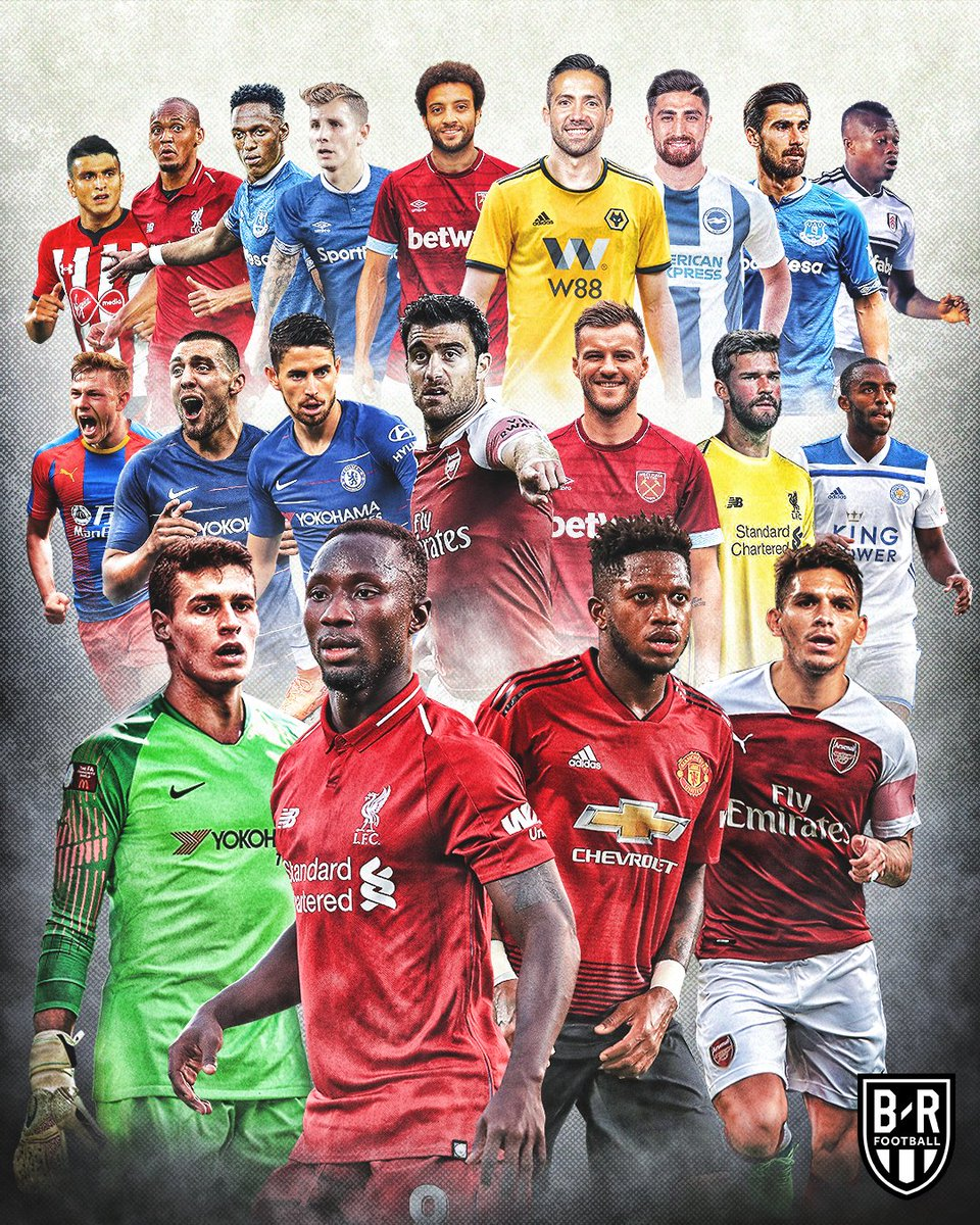 Welcome to the Premier League.
