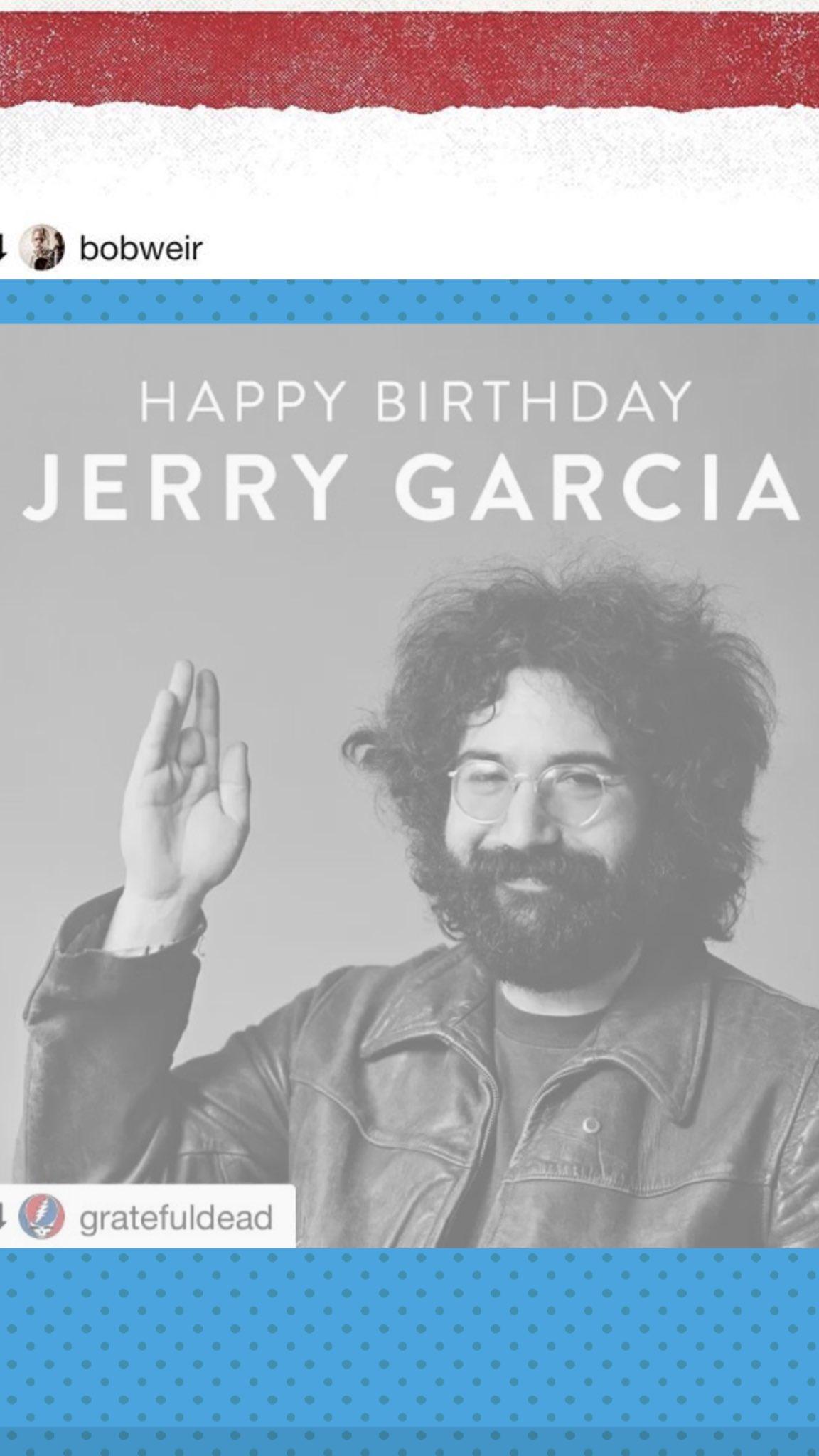 HAPPY BIRTHDAY ELI THERES A REASON Y U R SO SPECIAL ..... THANK U JERRY GARCIA