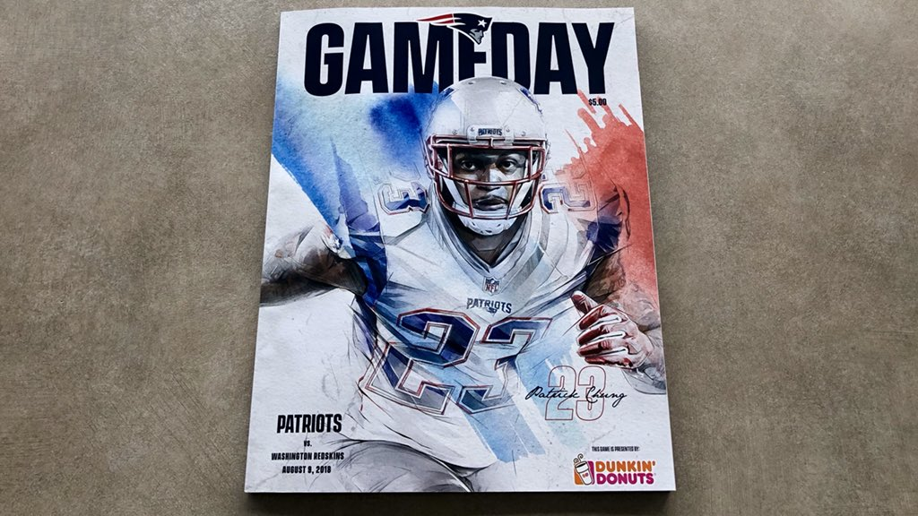 Tonight's game program cover.  #WASvsNE <br>http://pic.twitter.com/BwF5tAnrAo