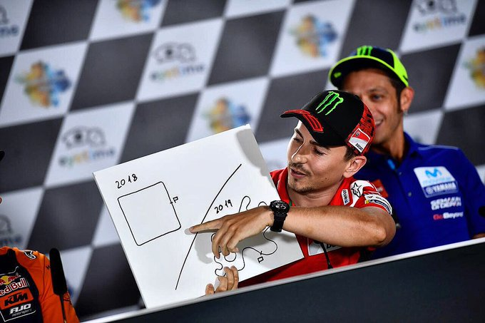 Guess the question and the answer. 😂 Who knows? 🤔 #JL99 😈 #AustrianGP 📸 Photo