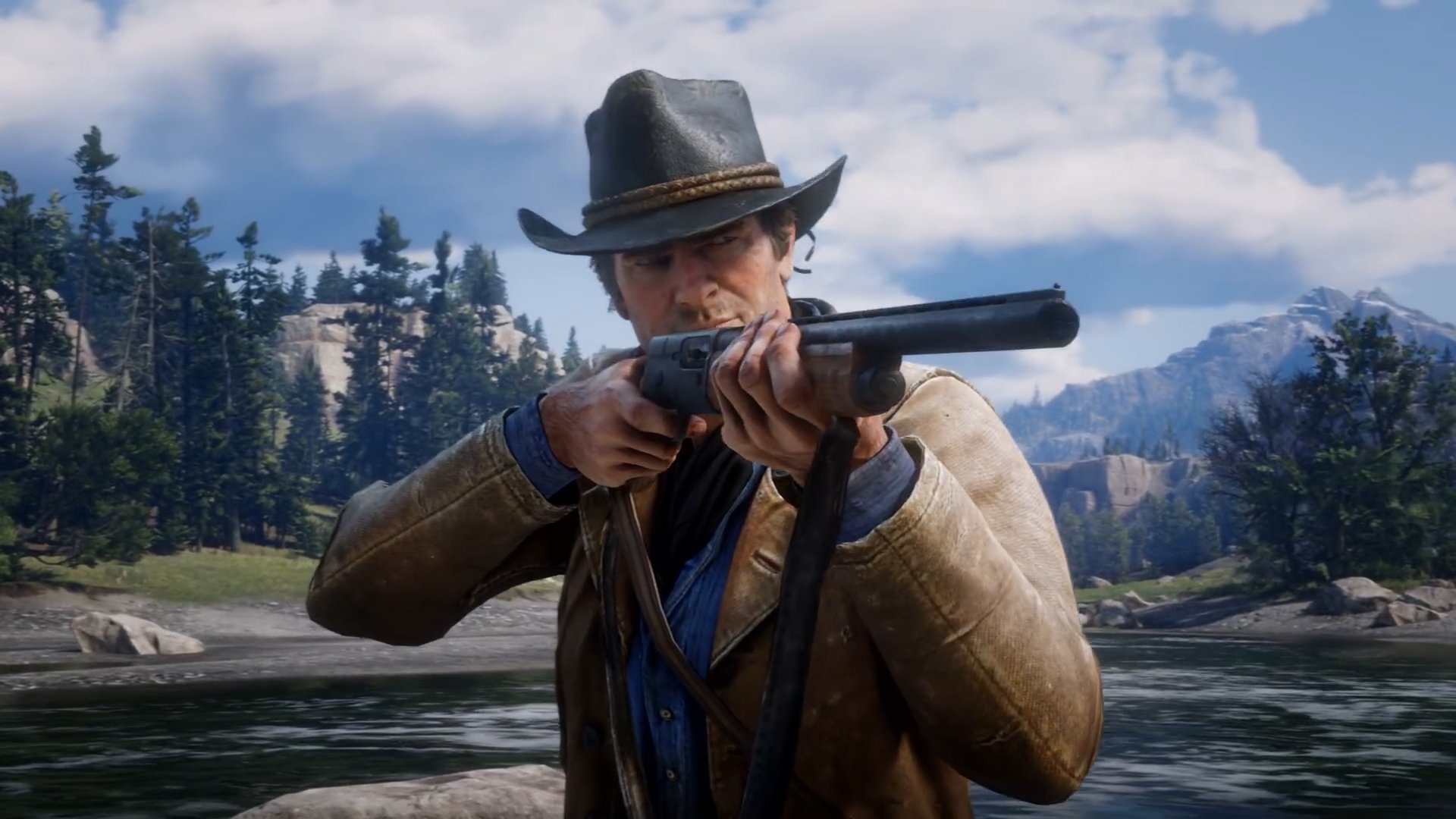 Rockstar reveals gameplay from their upcoming Old West open-world sequel: Red Dead Redemption 2. https://t.co/eE5WUzzFBa