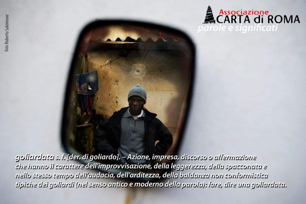 """""""È stato un momento di goliardia"""". Così si sono giustificati i ragazzi che hanno sparato con una pistola a salve contro Buba Ceesay, 24enne originario del Gambia.Ecco la nostra cartolina del giorno. #parolesenzaconfini #goliardia #10anniCdR  - Ukustom"""