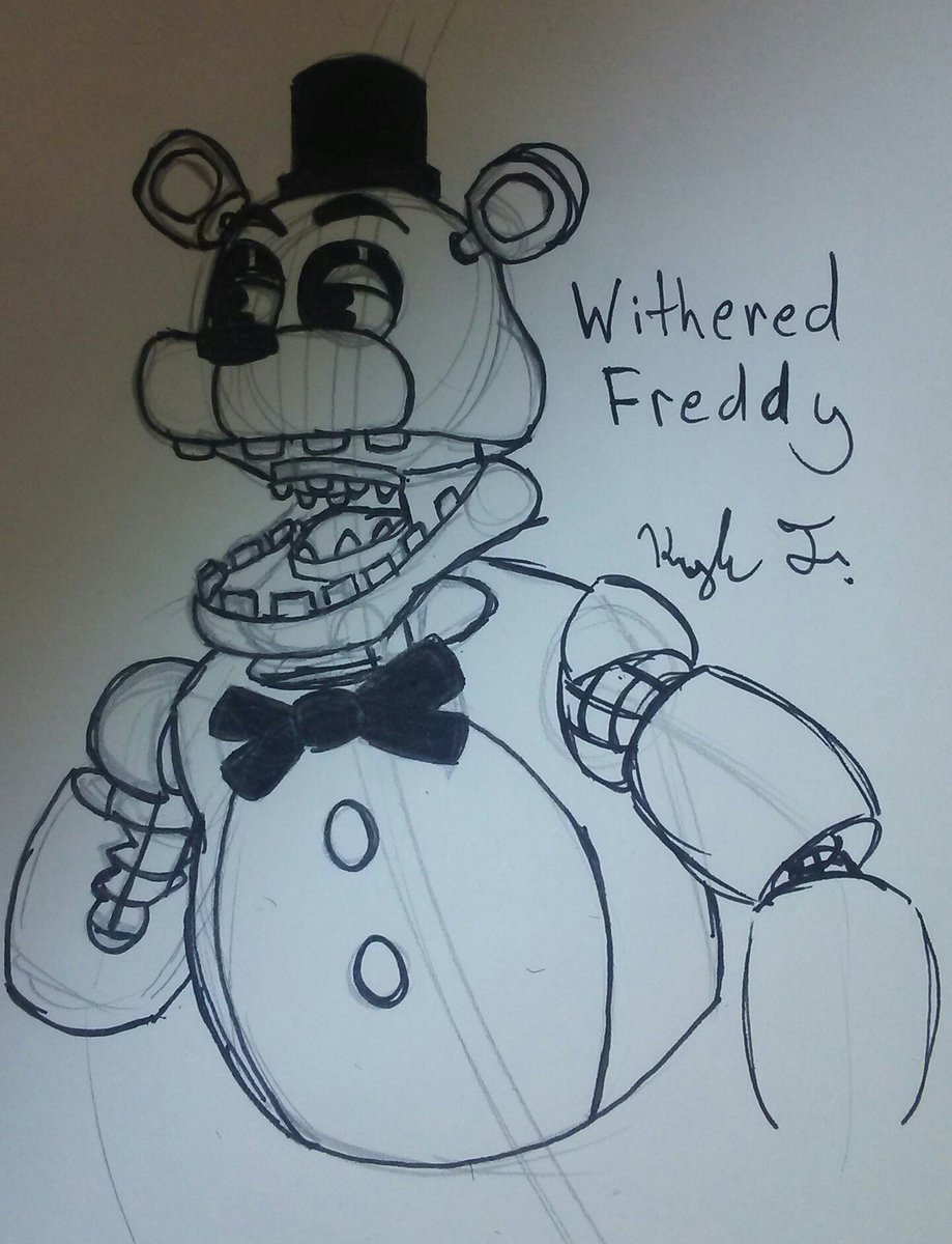 witheredfreddy hashtag on Twitter