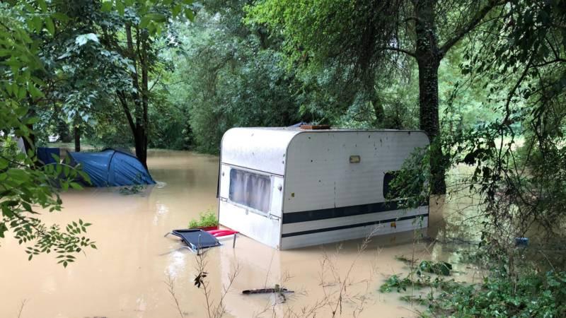 Afbeeldingsresultaat voor overstromingen frankrijk 2018
