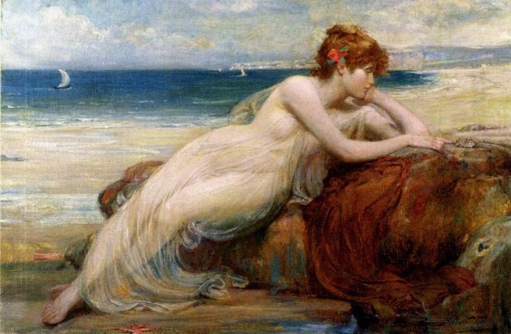 aphrodite goddess painting - 1000×654