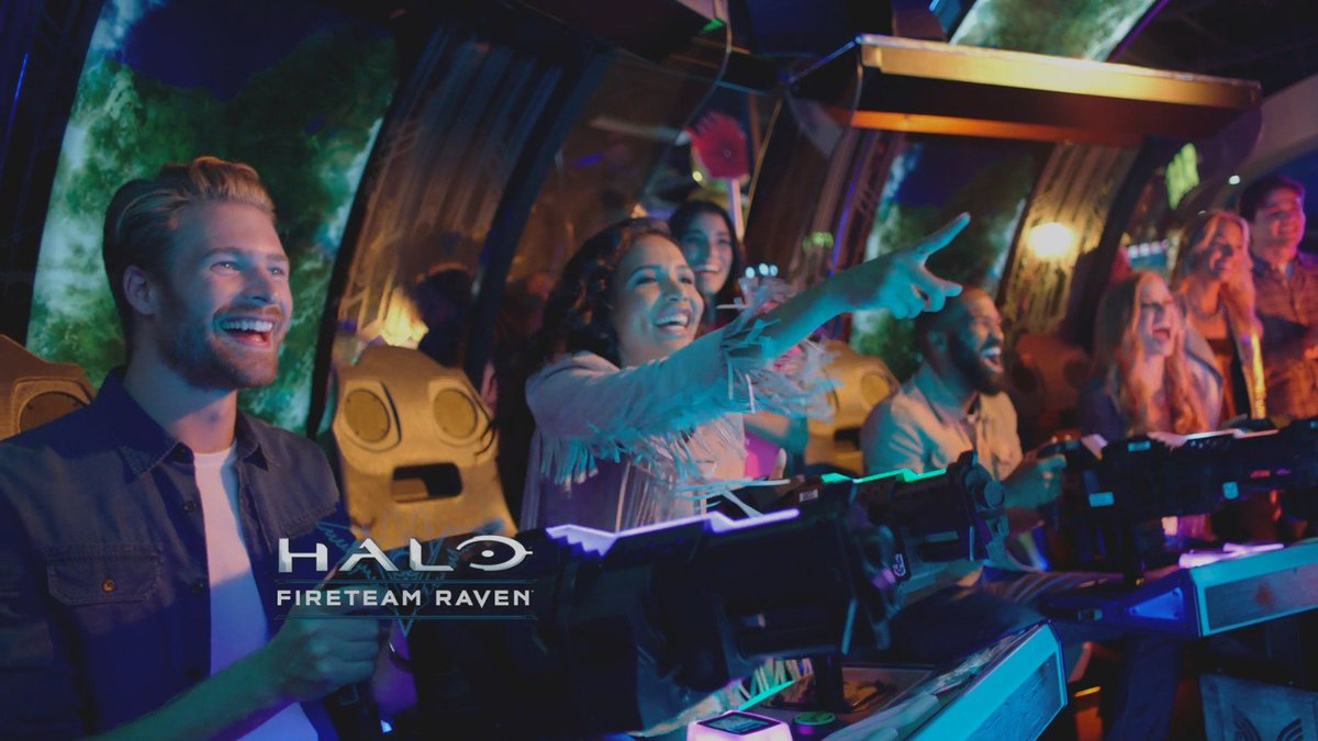 The new cooperative #HaloArcade experience, Halo: Fireteam Raven, is now available at all @DaveandBusters locations!