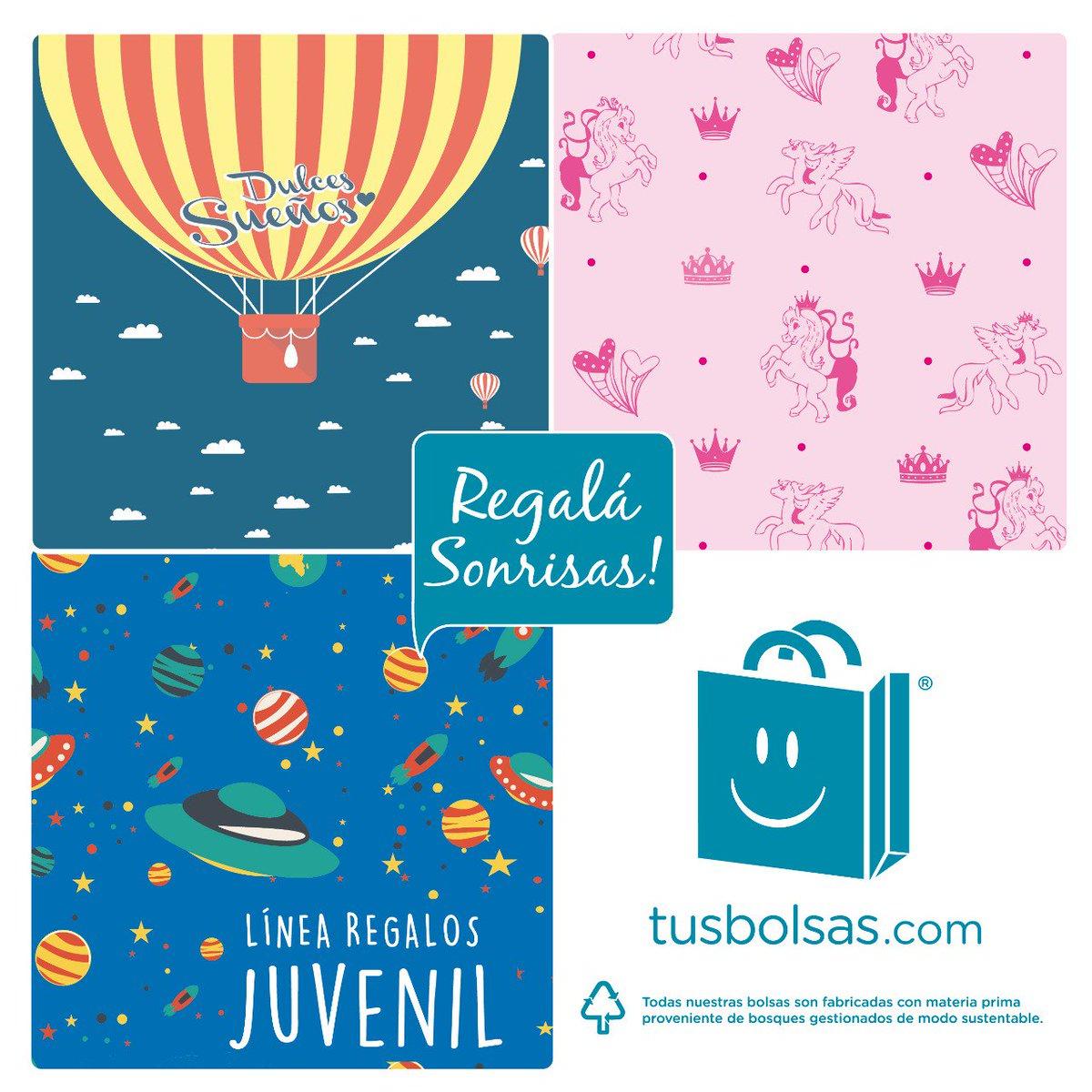 #tusbolsas #linearegalos #lineajuvenil #diadelniño #bolsasdecartulina #bolsasderegalos #bolsasfantasia #shoppingbags #shoppingbagsargentina